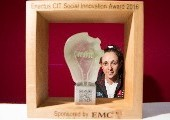 A Water Purification Device wins the first Enactus CIT Social Innovation Award