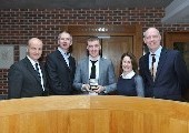 Michael Gilroy awarded Niall Condon Pfizer Chemical Process Safety Medal
