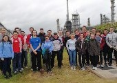 Chem Eng Year 1 visit Irving Oil