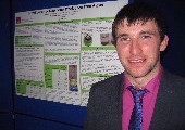Aaron Kenny awarded best chemical engineering poster prize