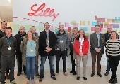 Eli Lilly hosts a tour of their latest Biotech facility to Springboard Students