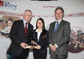 Melissa Wong presented with Denise O'Dea Perpetual Trophy