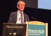 CIT lecturer, Pat Kennedy, speaks at Hazards 26