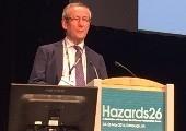 CIT lecturer, Pat Kennedy, speaks at Hazards 26