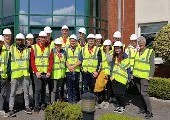 First Year Chemical Engineering visit Pfizer Little Island