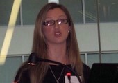 Rachel Woodward presents at FRESH seminar