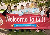 New students receive a hearty welcome from CIT