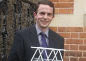 Brian Hand Wins Best Paper Presentation Award at CADFEM Ireland Conference