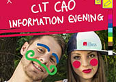 All Welcome at CAO Information Evening in CIT >  Wednesday 22nd April, 6pm - 8pm