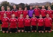 CIT Ladies Soccer Team 2014 Ladies Intervarsities Shield Winners