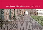 Registration for Crawford College Evening Courses