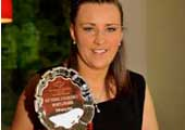 Southside & District Sports Award is awarded to Student Denise Luby, Captain of CIT Camogie Team