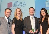 "CIT Wins ""Postgraduate Course of the Year"" at the Graduate Recruitment Awards"