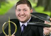 James King Wins Engineers Ireland  Innovative Student Engineer 2014