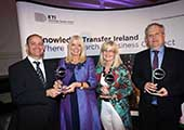 CIT wins the Spin-Out Company Impact award at the annual Knowledge Transfer Impact Awards