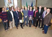 First Graduates of New Springboard Funded Courses attend an Awards Ceremony