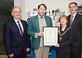 Regina Moran, President of Engineers Ireland and CEO of Fujitsu (Ireland) Ltd., Honoured in CIT