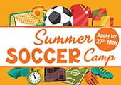 CIT Soccer Summer Camp for boys and girls > 30th June to 1st July