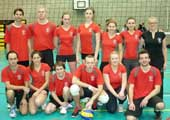 Ladies Volleyball Win Intervarsities Plate