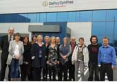 DePuy Synthes and CIT Biomedical Engineering Organise Site Visit for Guidance Counsellors