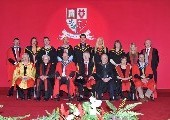 First cohort of MSc in Computational Biology students graduate at the Institute's May Conferring Ceremony