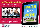 Win an iPad with myVideo Short Video Competition