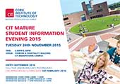 Mature Student Information Evening > Tuesday 24th November, 6pm - 8.30pm