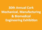 30th Annual Cork Mechanical, Manufacturing & Biomedical Engineering Exhibition Thursday 28th April 2016 >  2.00pm to 8.30pm