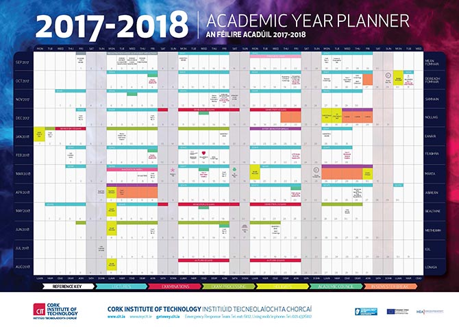 Cit  Cork Institute Of Technology  Semester Dates And Calendar