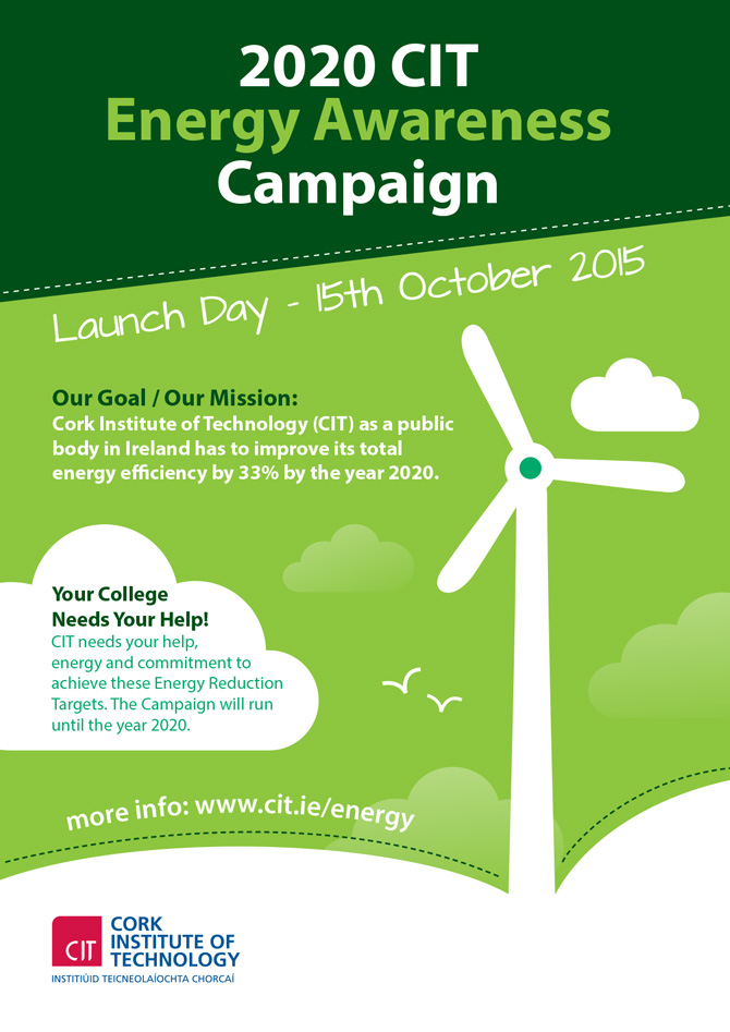 Cit Cork Institute Of Technology Energy Awareness Campaign