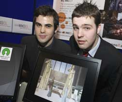 James O'Sullivan and John Twohig, Computing, CIT; prize winners for